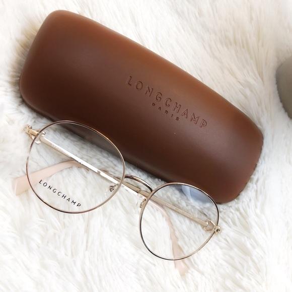 7a693eea24 LONGCHAMP Eyeglasses LO02109 Rose Gold